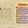 GR94 Personal Xmas Card 1925 Thinking £40