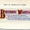 APC811 Birthday Wishes £12